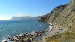 Балаклава Серебряный пляж фото