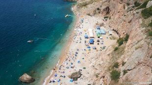 Балаклава пляж Васили 2015