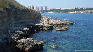 Город севастополь пляжи фото