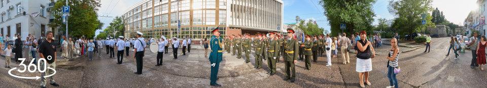 Военный оркестр штаба Южного Военного Округа Российской Федерации