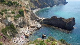 Царский пляж Фиолент