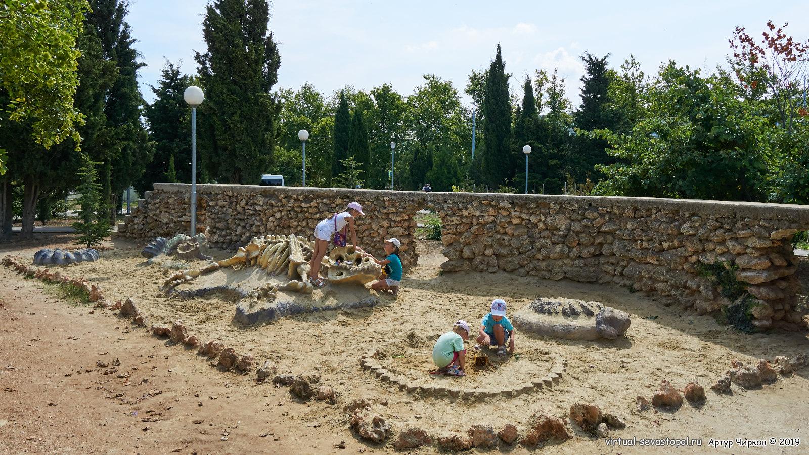Песочница раскопки
