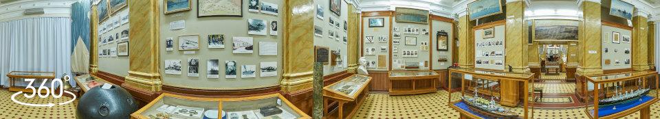 Севастополь, музей Краснознаменного Черноморского флота России, зал № 4