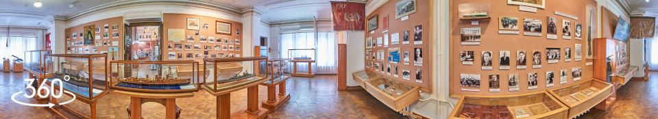 Севастополь, музей КЧФ, панорама зала № 5