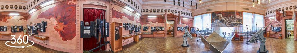 Панорама экспозиции зала № 6