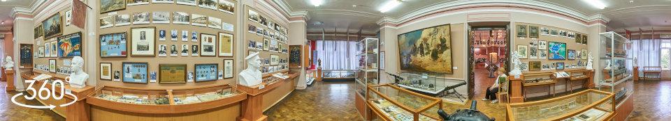 Панорама 360 градусов. Музей Краснознаменного Черноморского флота, зал № 7