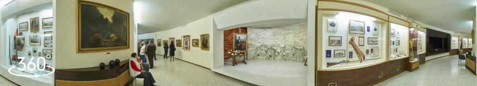 Панорама Оборона Севастополя 1854 - 1855 г.г. Экспозиция эскиз  панорамы фото