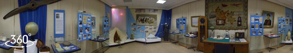 Выставка Иван Папанин – севастопольский Колумб