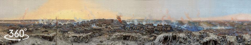 Франц Рубо. Полотно Панорамы Оборона Севастополя 1854 - 1855 г.г.