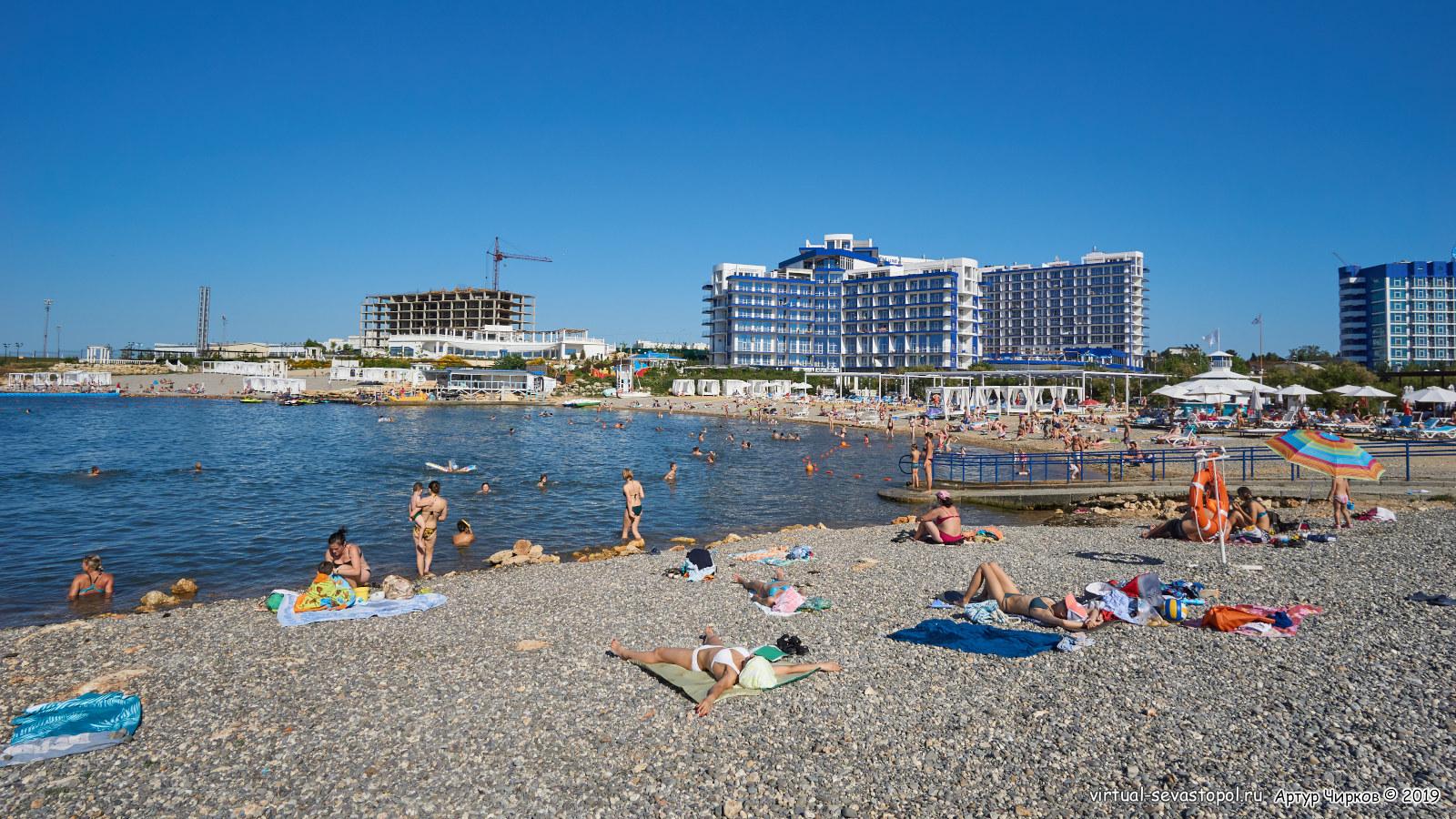 Крым учкуевка пляж фото