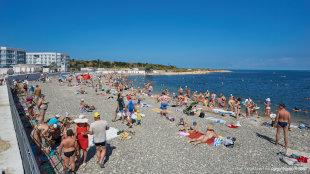 Солдатский пляж Адмиральская лагуна