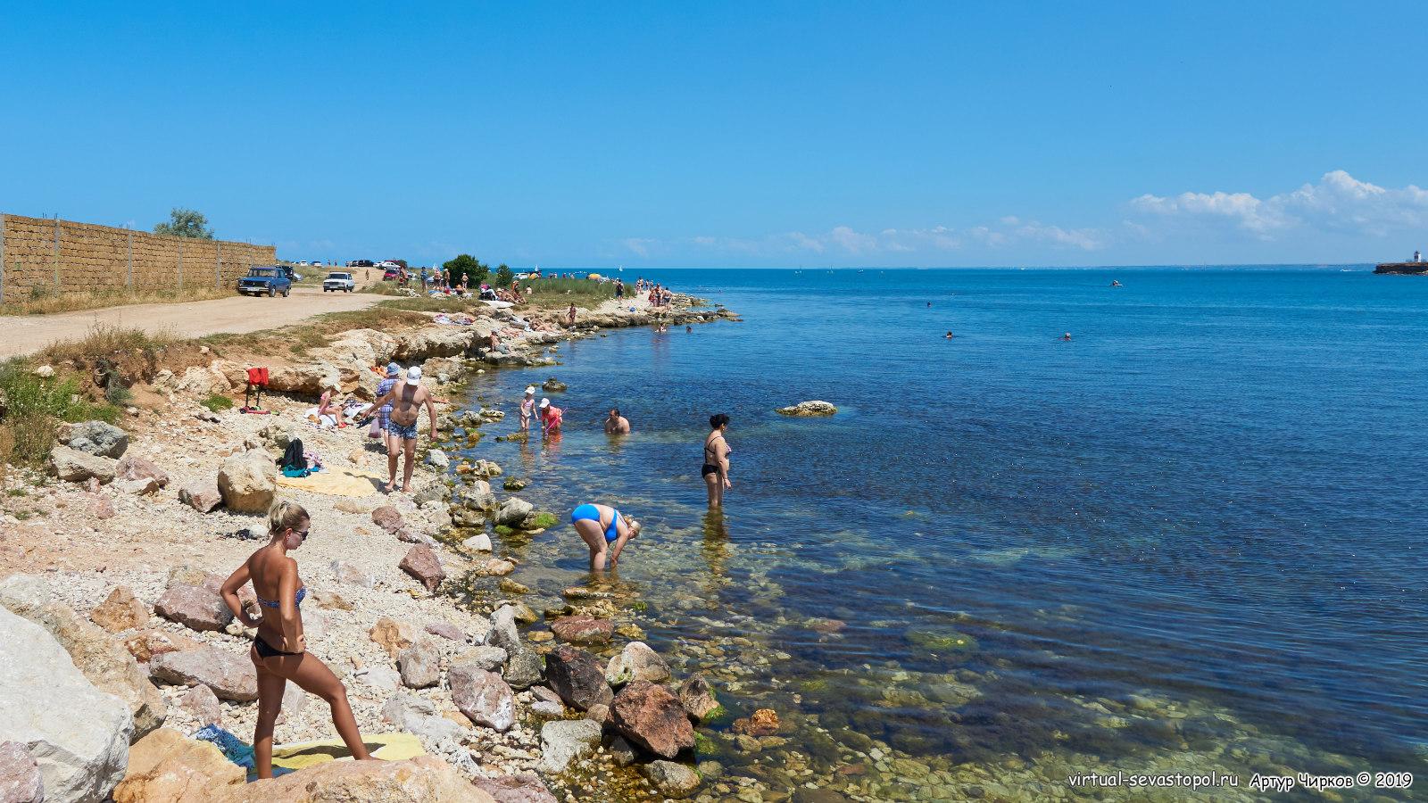 севастополь фото пляж омега