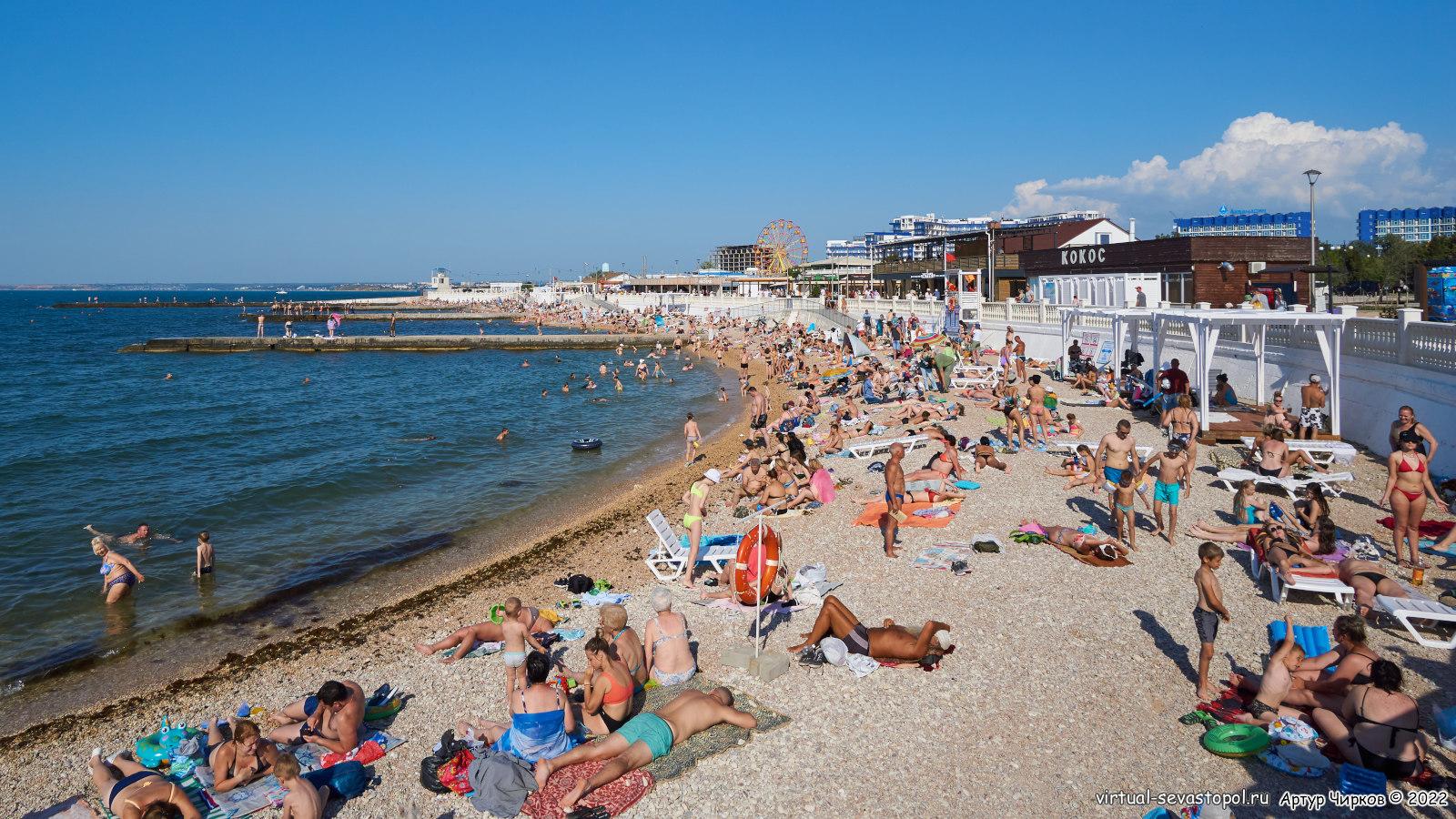 Хорошие пляжи в севастополе фото