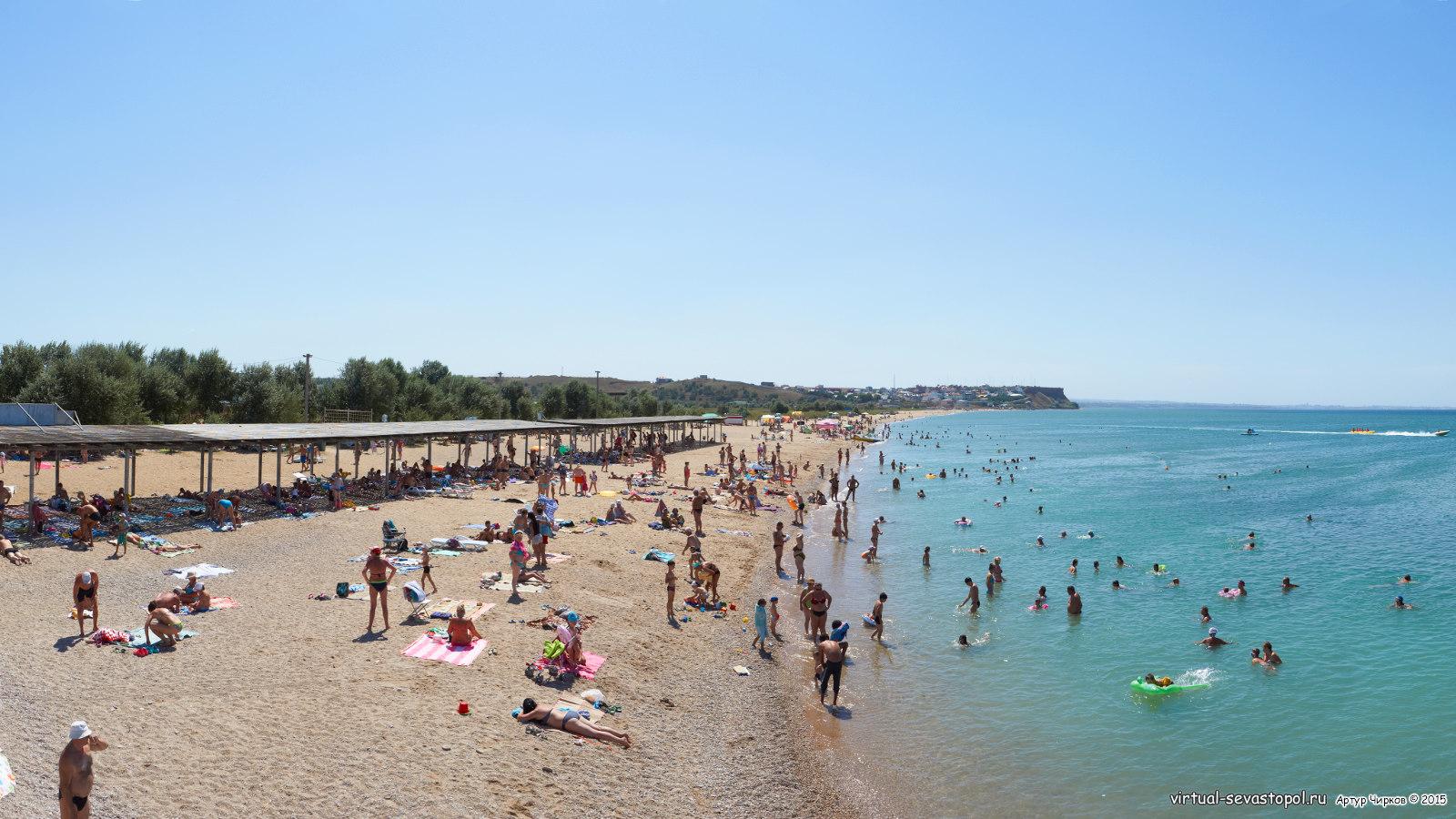 Пляжи кача фото с описанием