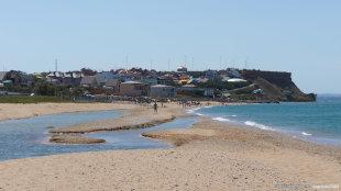 Кача фото поселка и пляжа