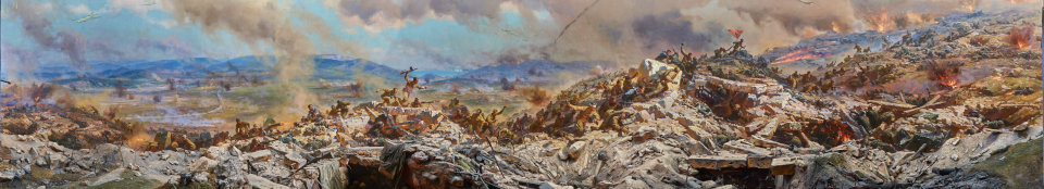 Диорама Штурм Сапун-горы 5 мая 1944 года.