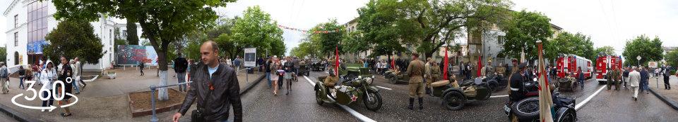 Военные мотоциклы времен Великой Отечественной войны