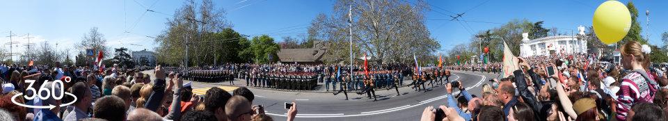 Парад Победы 2015 г.